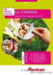 LA CONSERVE - Auchan