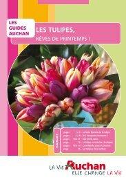 LES TULIPES, - Auchan