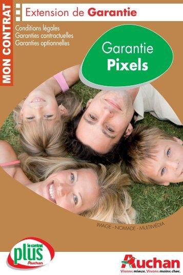 Garantie Pixels - Auchan