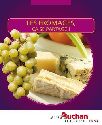 LES FROMAGES, - Auchan