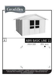 ABRI BASIC LINE 11 - Auchan