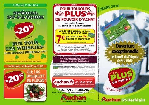 Carte Accordfr.10273 Leafletstherblain Qxp Mise En Page 1 Auchan