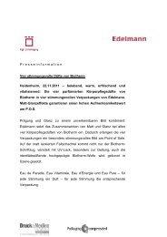Bericht als PDF downloaden - Edelmann