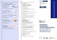 Beruflichkeit, Organisations- und Personalentwicklung - bops