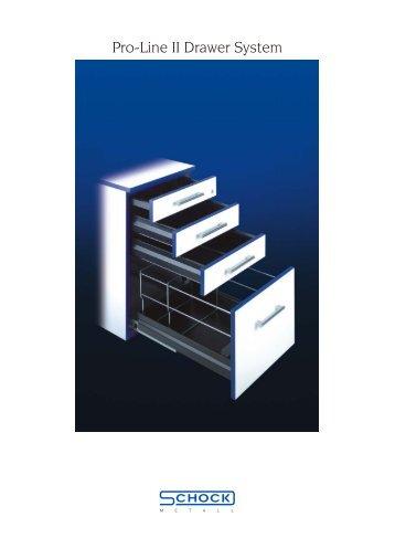 Pro-Line II Drawer System - Schock Metall