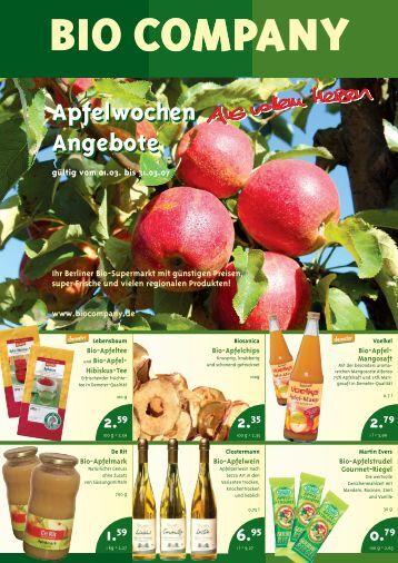 Apfelwochen Angebote Apfelwochen Angebote - Der Berliner ...
