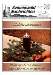Sona Dezember 13.indd - Gemeinde Schöfweg