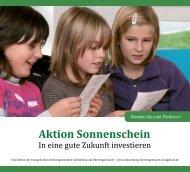 Aktion Sonnenschein - Evangelische Kirchengemeinden ...