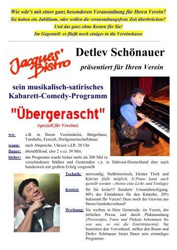 speziell für Vereine - von Detlev Schönauer