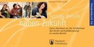 Soziale Berufe haben Zukunft 1 MB - Schoenbrunn.de