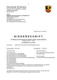 10.06.2013 - Gemeinde Schöneck