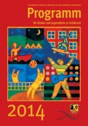 Jugendprogramm2014 - Gemeinde Schöneck