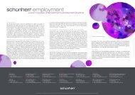 employment - Schoenherr
