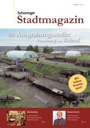 Schöninger Stadtmagazin Ausgabe 2 (3.4 MB) - Stadt Schöningen