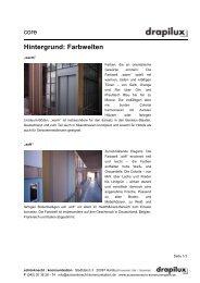 Hintergrundinfo Farbwelten - schönknecht : kommunikation