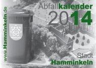 Stadt Hamminkeln - Schönmackers Umweltdienste GmbH & Co KG