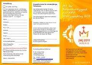 Weltjugendtag Einladung - Aktuelle Schönstatt-Infos aus der ...