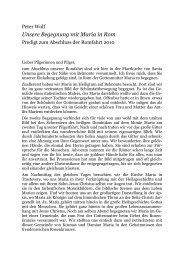 Ansprache von Dr. Peter Wolf beim Abschlussgottesdienst (pdf)