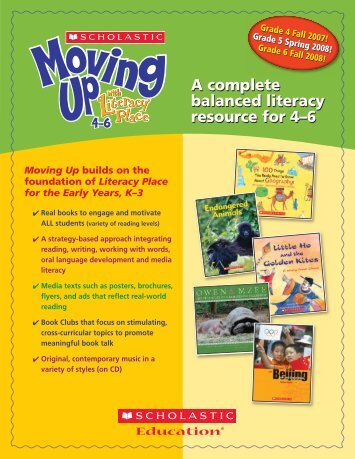 A complete balanced literacy resource for 4–6 A complete balanced ...