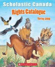 RightsCatalogue - Scholastic Canada