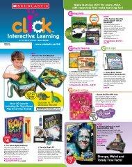 Click October - Scholastic Canada