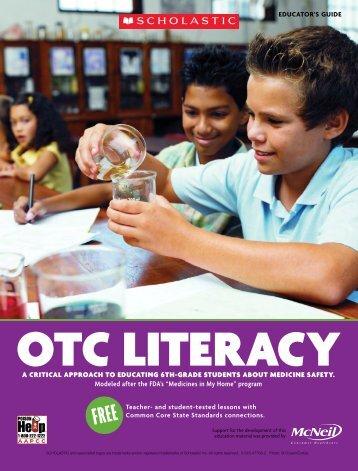 aBout otc litERacY - Scholastic
