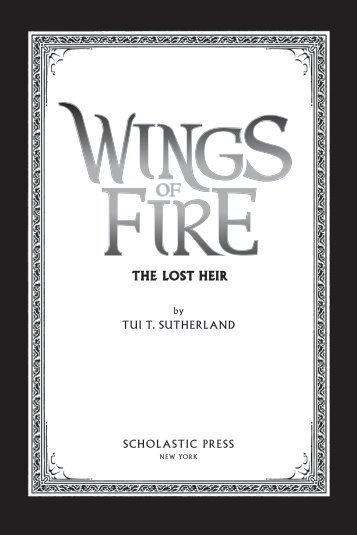 The LosT heir - Scholastic