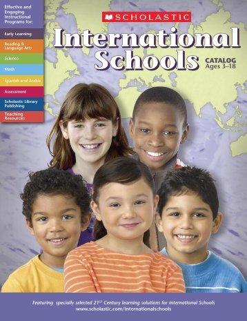 Download the International Schools Catalog (PDF) - Scholastic