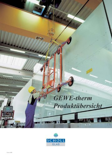 GEWE-therm-Produktuebersicht 2007