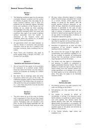 Einkaufsbedingungen - Stand 09-2010-EN