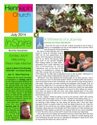 !nSpire Newsletter- July 2014