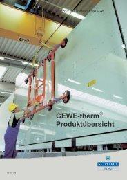 GEWE-therm Produktübersicht