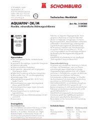 AQUAFIN®-2K/M - Schomburg