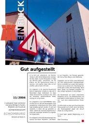 Einblick 11/2004 - Schomburg