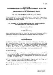 1 – 30 Verordnung über die Reinhaltung und ... - Schonungen