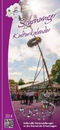 Kulturkalender 2014.pdf - Schonungen