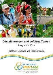 Wanderprogramm Schweinfurter OberLand 2013 - Maßbach