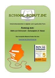 Mathe zum Schmunzeln - Sachaufgaben (5. Klasse) - School-Scout
