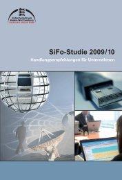 Handlungsempfehlungen zur SiFo-Studie 2009/2010 - School GRC