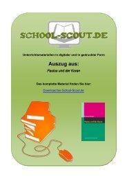 Paulus und der Koran - School-Scout