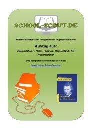 Ein Wintermärchen - School-Scout