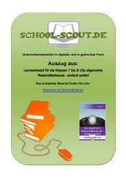 Lernwerkstatt für die Klassen 7 bis 9: Die allgemeine ... - School-Scout