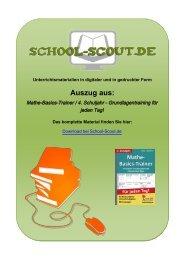 Mathe-Basics-Trainer / 4. Schuljahr ... - School-Scout