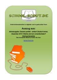 lehrerausgabe: Deutsch perfekt - einfach Deutsch ... - School-Scout