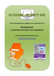 Lernwerkstatt für die Klassen 5 bis 6: Magnetismus - School-Scout