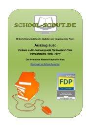 Freie Demokratische Partei (FDP) - School-Scout