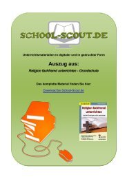 Religion fachfremd unterrichten - Grundschule - School-Scout