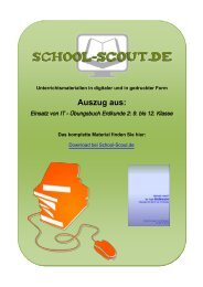9. bis 12. Klasse - School-Scout