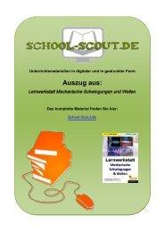Lernwerkstatt Mechanische Schwingungen und Wellen - School-Scout