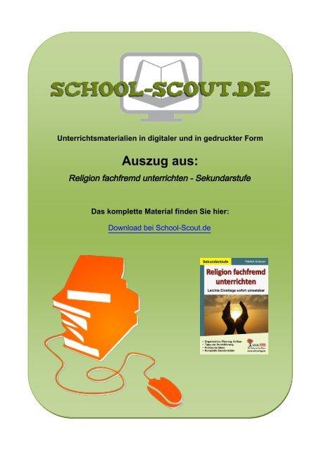 Religion fachfremd unterrichten - Sekundarstufe - School-Scout